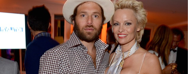 Pamela Anderson and Rick Salomon (David M. Benett/Getty Images for the Pamela Anderson Foundation)