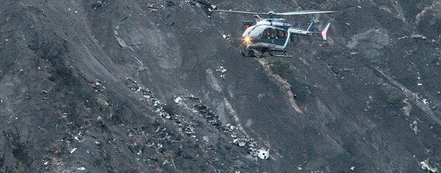 French Alps plane crash a 'picture of horror' (AP)