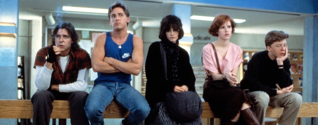 First draft of 'Breakfast Club' script unearthed