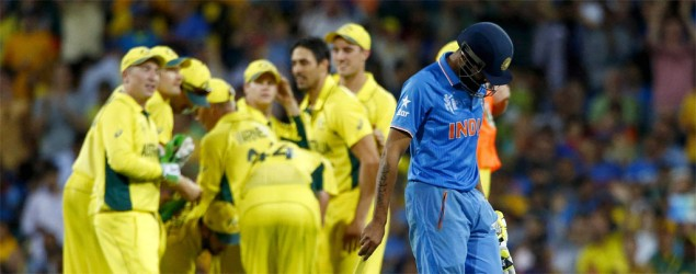 India knocked out of World Cup