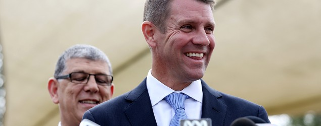 Mike Baird. Photo: AAP