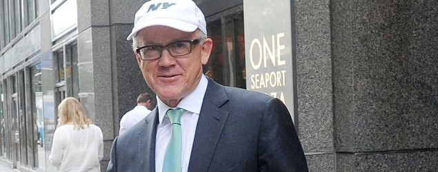 Jets owner Woody Johnson sells apartment for record price. (Getty Images)