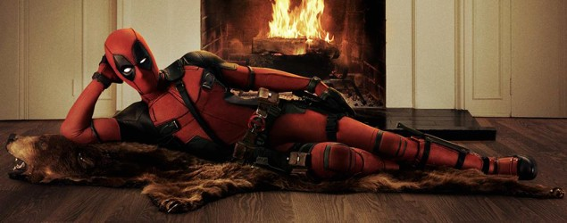 "Sultry first look at Ryan Reynolds in ""Deadpool"" (Deadpool/Fox)"