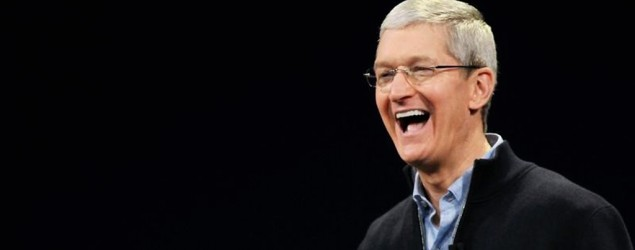 Tim Cook to donate fortune to charity. (Reuters)