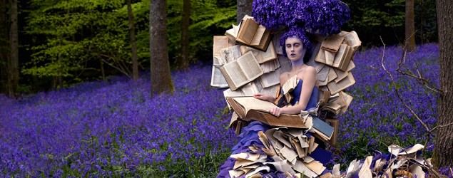 Photographer Kirsty Mitchell's 'Wonderland' photo series. (Kirsty Mitchell/Flickr)