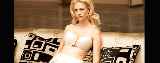 January Jones in X Men (Yahoo Movies)