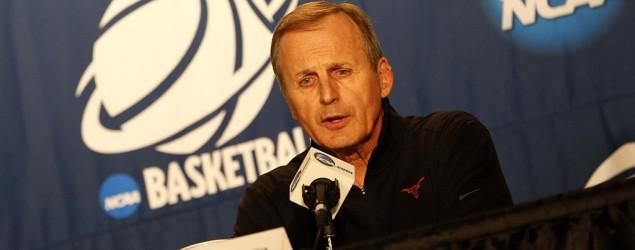 Texas fires longtime coach Rick Barnes. (USA Today)