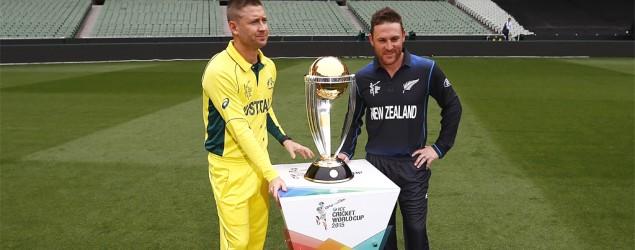 World Cup Final, Live: Australia vs NZ