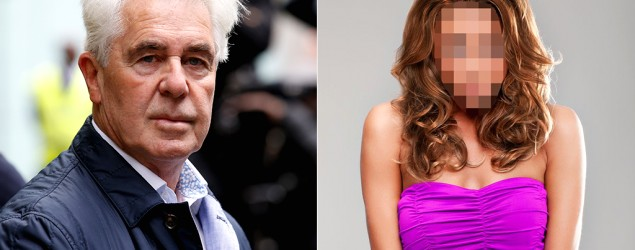 Max Clifford, model/Getty, The Mirror