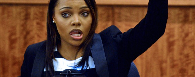 Aaron Hernandez's financée Shayanna Jenkins drops courtroom bombshell. (AP)