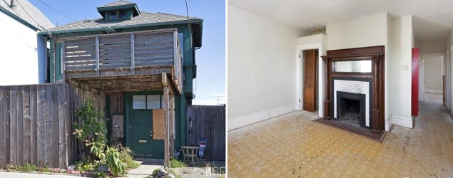 A San Francisco home ravaged by squatters has sold for $1.2 million. (Yahoo Homes)