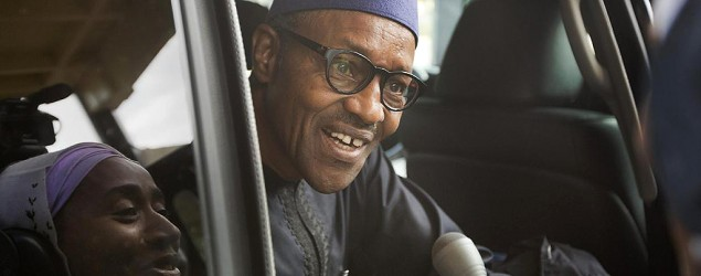 Nigerian opposition candidate Gen. Muhammadu Buhari (AP)