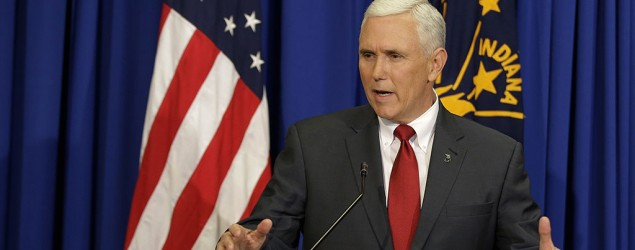 Indiana governor defends law, wants clarification (AP)
