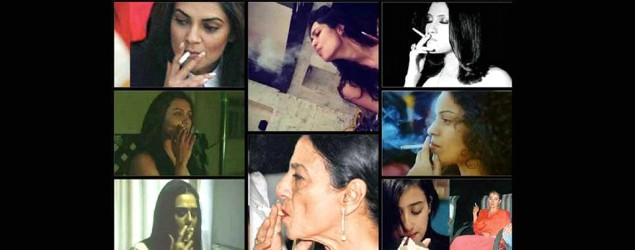 Divas who were caught smoking
