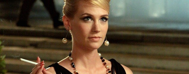 "January Jones in ""Mad Men."" (AMC)"