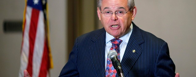 New Jersey Sen. Bob Menendez indicted on corruption charges. (Reuters)