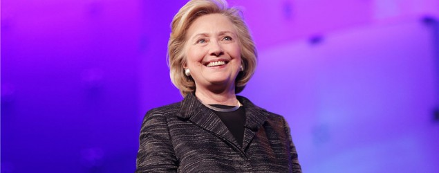 Hillary Clinton makes 2016 presidential campaign announcement: I'm running (Marla Aufmuth/Getty Images)