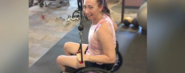 Paralyzed Olympic champ's 'amazing' recovery