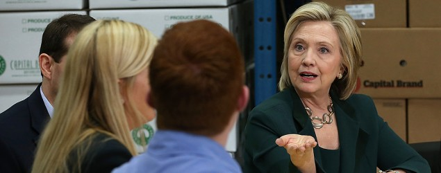 Hillary Clinton gets real – and that's a challenge