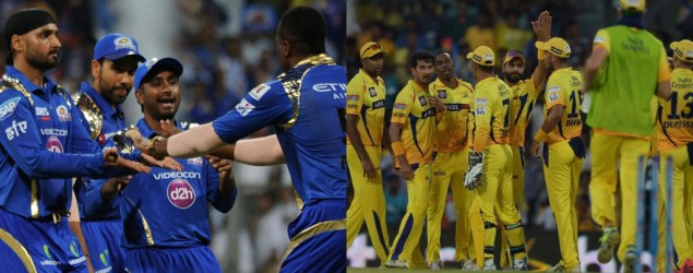 Live: Chennai Super Kings vs Mumbai Indians