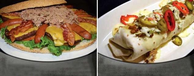 NASCAR track offering monster burritos, burgers