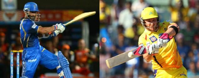 Live: Chennai vs Rajasthan