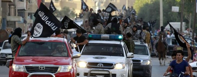 Islamic State militants. Photo: Reuters