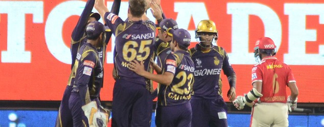 Live: Kolkata Knight Riders vs Kings XI Punjab