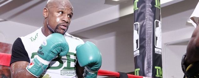 Mayweather responds to UFC star's taunt. (Getty Images)