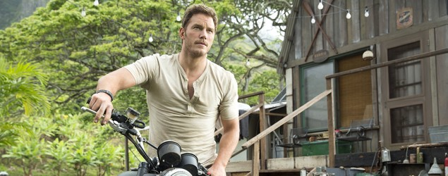 "Third ""Jurassic World"" poster features Chris Pratt. (Universal Pictures)"