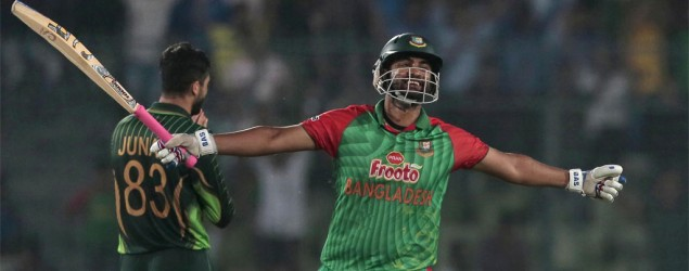 Bangladesh seal historic win over Pakistan
