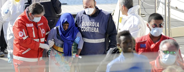 Fury as 700 feared dead in 'avoidable' Med shipwreck . Photo: Reuters