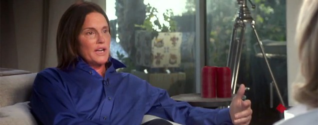 Bruce Jenner sits down with Diane Sawyer (Screen grab courtesy ABC)