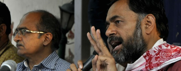Bhushan, Yadav expelled from AAP over anti-party activities