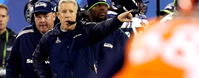 Super Bowl champion Seattle Seahawks make a baffling trade for a backup quarterback. (Getty Images)