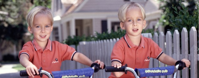 "Sawyer and Sullivan Sweeten of ""Everybody Loves Raymond."" (Everett Collection)"