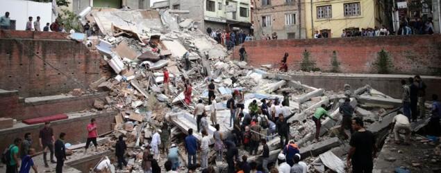 Erdbeben in Nepal Bild: dpa