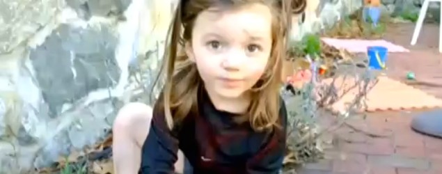 Mimi and Joe Lemay say their 5-year-old daughter, Mia, met all the signs of possibly being a transgender child. (Screenshot/CBS)