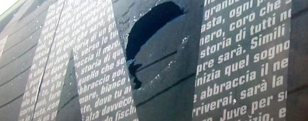 Derby di Torino: sasso frantuma vetro pullman della Juventus