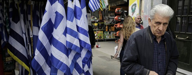 With Greece on the brink, world tries to avoid blame. (AP)