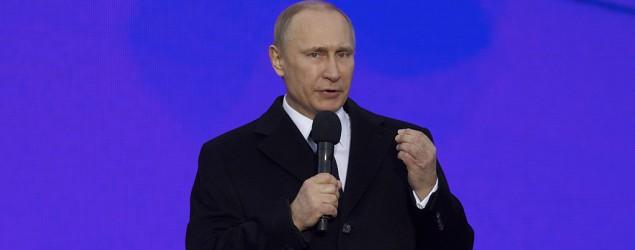 Russian President Vladimir Putin claims the U.S. aided Islamic insurgents in Russia's North Caucasus (AP)