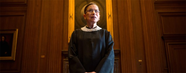 Justice Ginsburg's mind made up on gay marriage. (Getty)