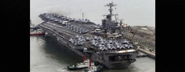 中國拒絕美航母訪港