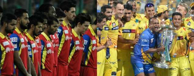 Live: Chennai Super Kings vs Royal Challengers Bangalore