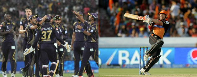 Live: Kolkata Knight Riders vs Sunrisers Hyderabad