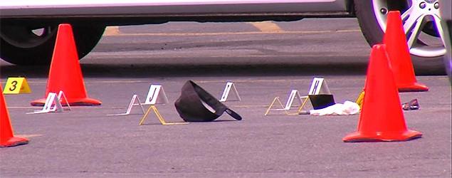 Shopper kills would-be carjacker in Macey's parking lot. (KSL -TV)