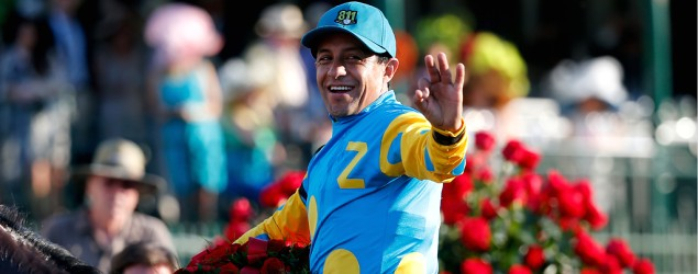 Jockey Victor Espinoza (Getty Images)