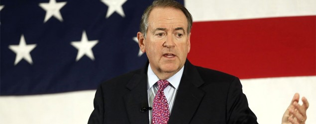 The Mike Huckabee record. (AP)