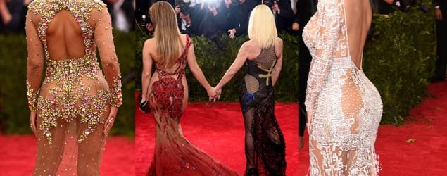 Beyonce, Jennifer Lopez, Donatella Versace, Kim Kardashian. Photo: Getty