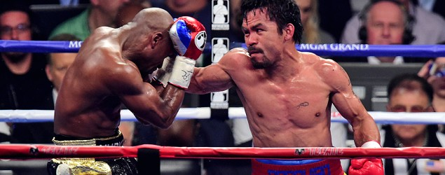 Manny Pacquiao and Floyd Mayweather (USA Today Sports)